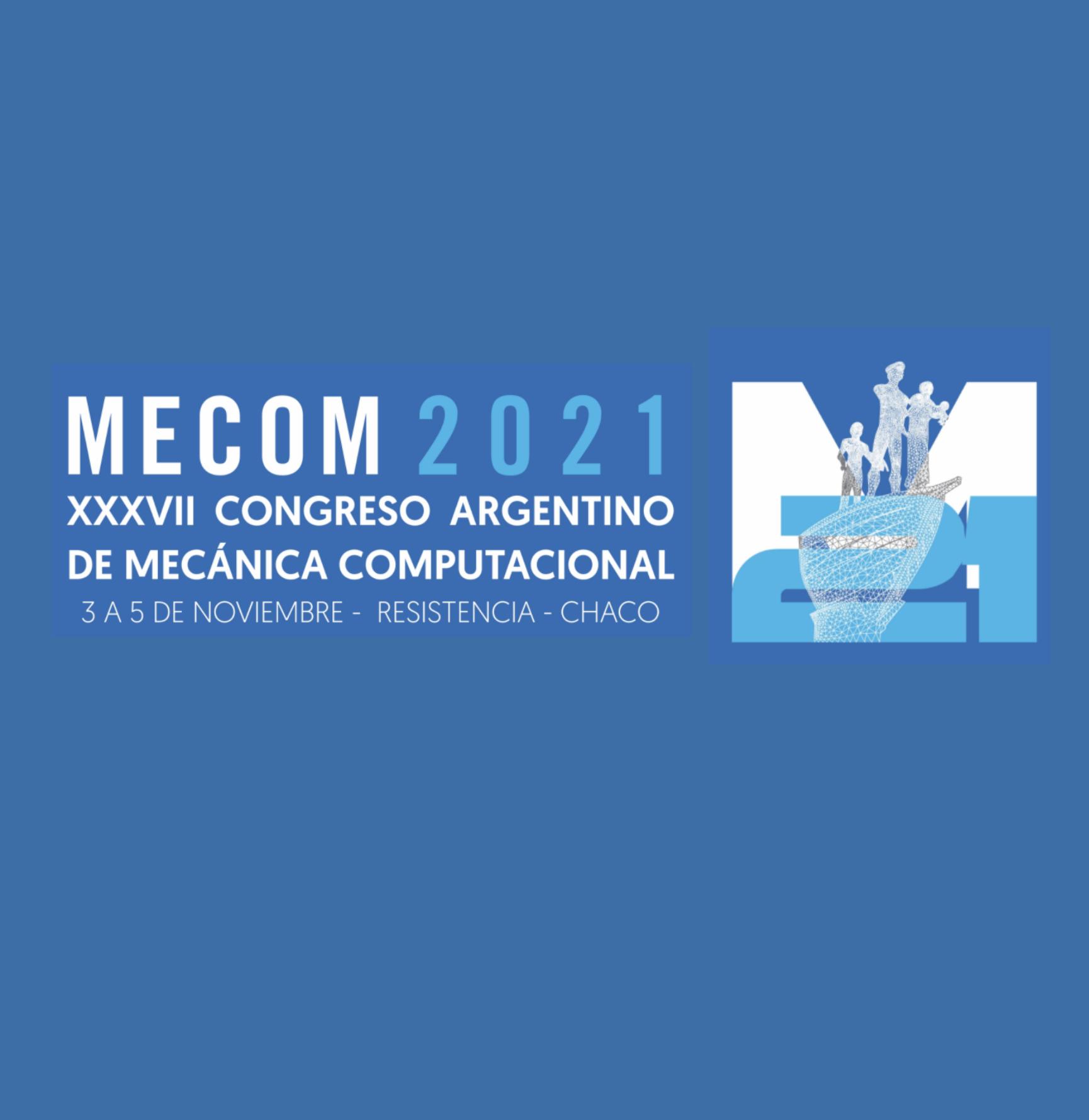 XXXVII CONGRESO ARGENTINO DE MECÁNICA COMPUTACIONAL | SAIG
